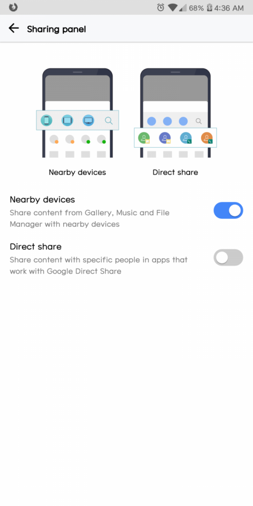 How to Remove Direct Share from the Share Menu