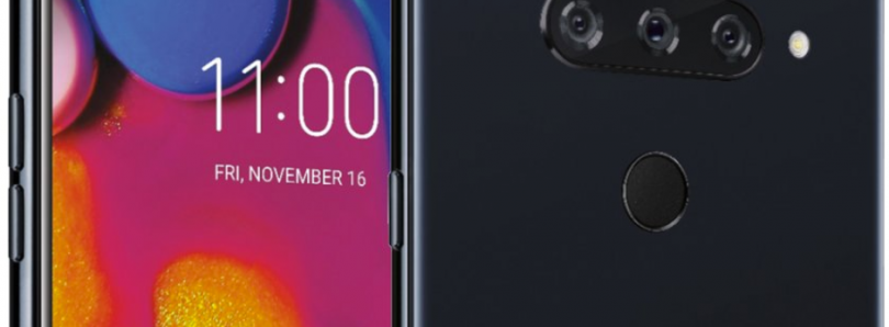 LG V40 ThinQ press renders confirm triple rear and dual front cameras