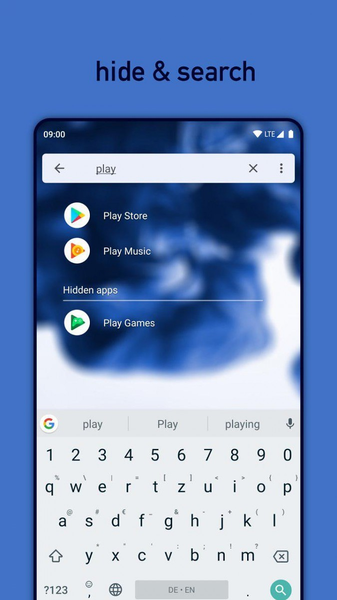 Niagara Launcher is a clean launcher that integrates with