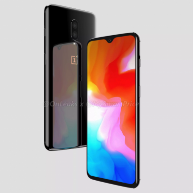 OnePlus 6T 3D renders show off its design