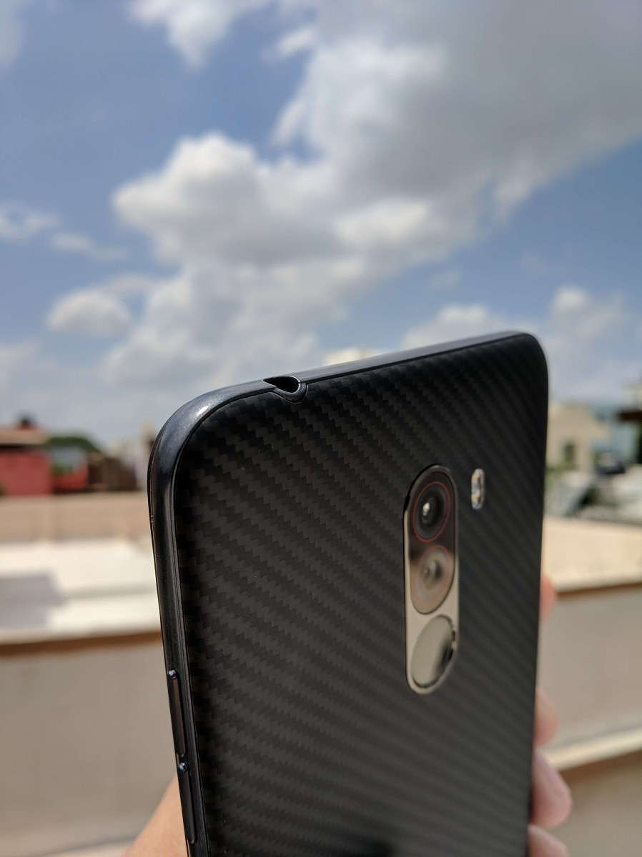 Xiaomi Poco F1 Design Display Speed And Smoothness Review Quality Waterproof Custom Printed Circuit Boards For Mobile Phone Not The Toughest Out There But Still Its Good To Know Theres Some Level Of Protection On Board Notch Holds An Array