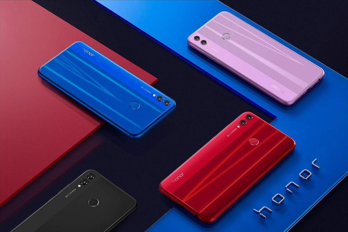 Image result for honor 8x red
