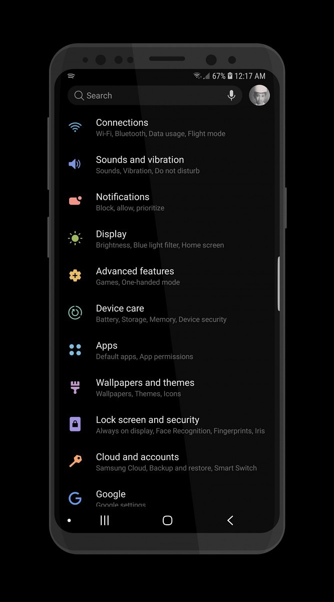 Get Samsung Experience 10 theme on the Samsung Galaxy S9
