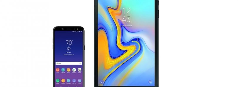 Samsung announces the Galaxy A6 and Galaxy Tab A 10.5″ in the U.S.