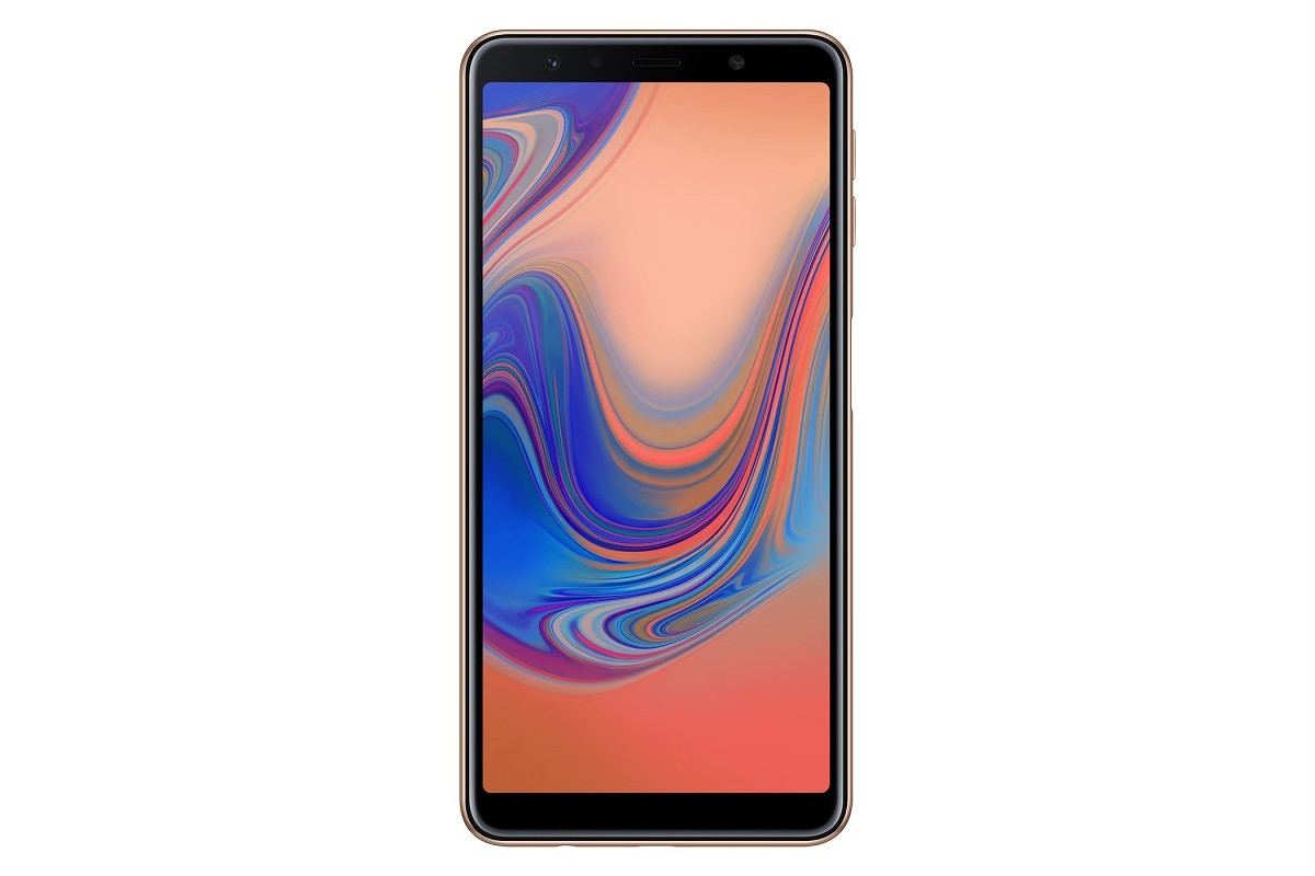 samsung galaxy a7 2018 launches in india with triple. Black Bedroom Furniture Sets. Home Design Ideas