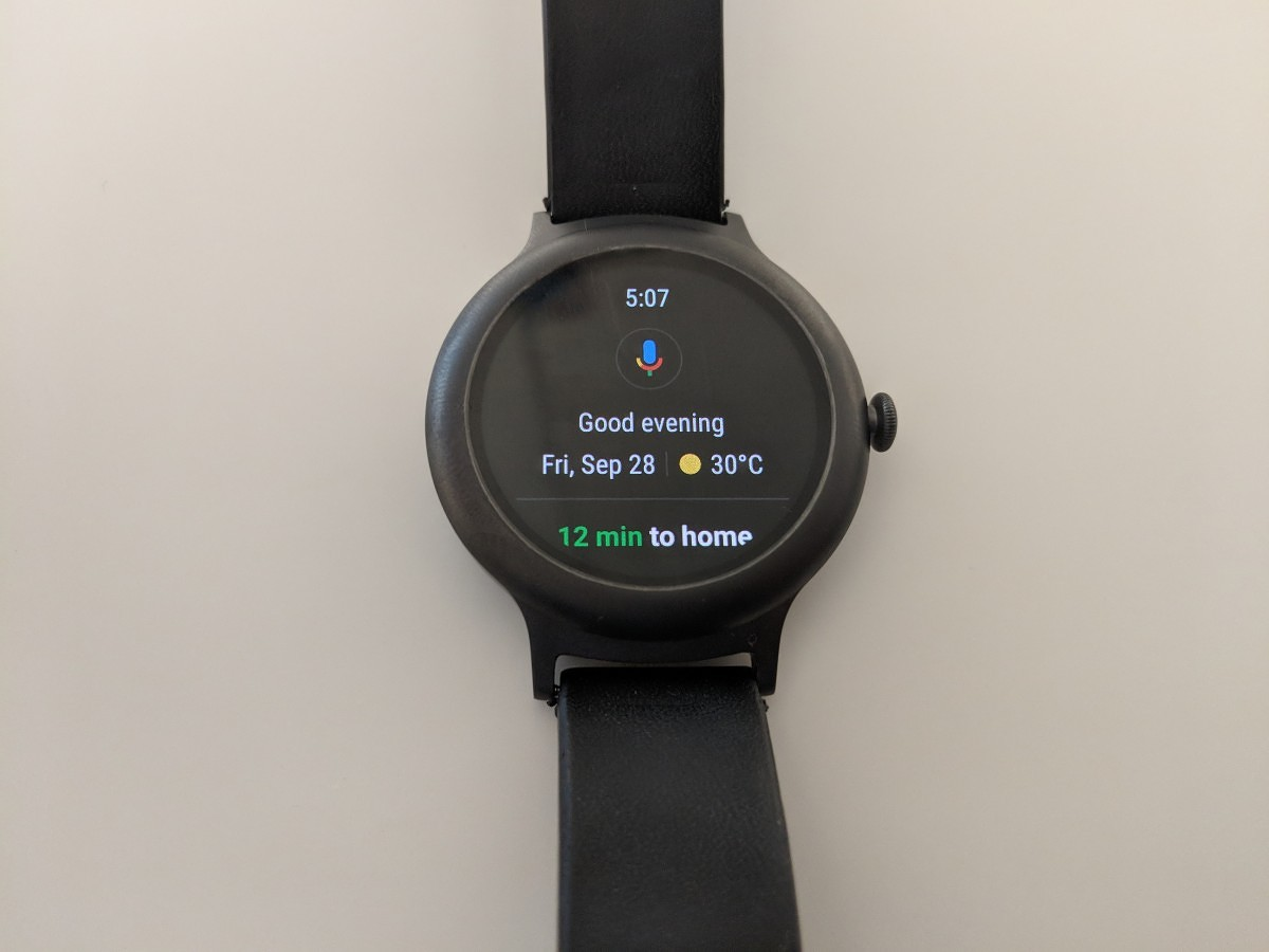 Google is rolling out the new Wear OS design today