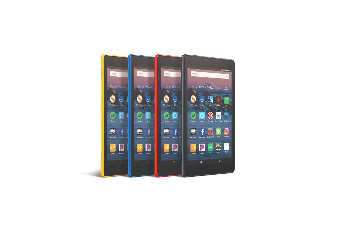 The 2018 Amazon Fire HD 8 has been unlocked and rooted