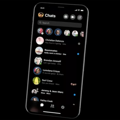 Facebook Messenger redesign with Dark Mode rolls out for some users