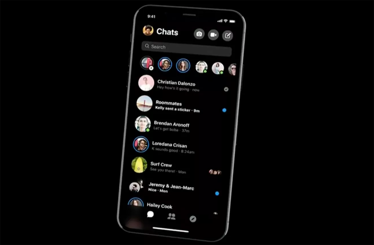 Facebook Messenger redesign with Dark Mode rolls out for