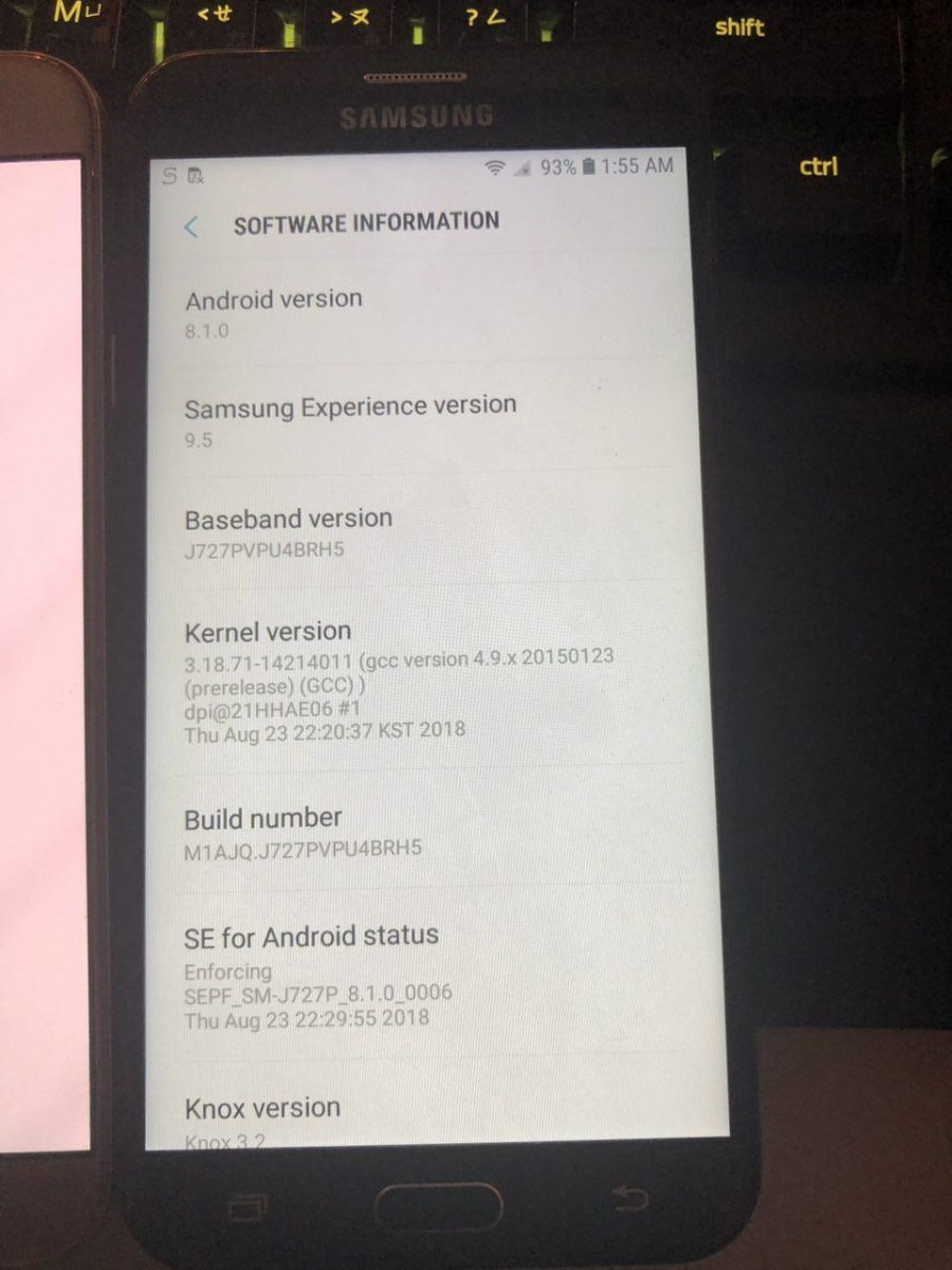 Android 8 1 Oreo firmware for Samsung Galaxy J7 now available