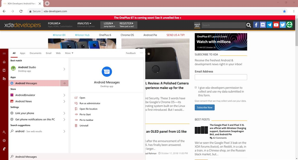 Android Messages integration with Chromebooks rolls out for the