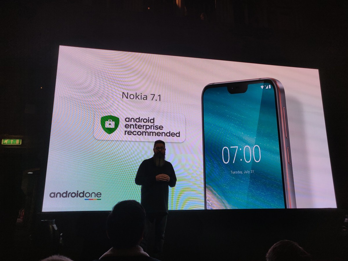 Nokia 7 1 revealed as Android One phone with a Snapdragon 636