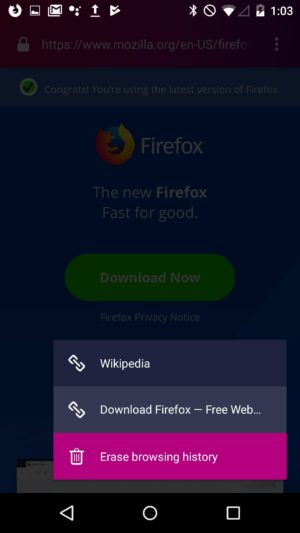 Firefox Focus for Android gets new design, now uses GeckoView engine