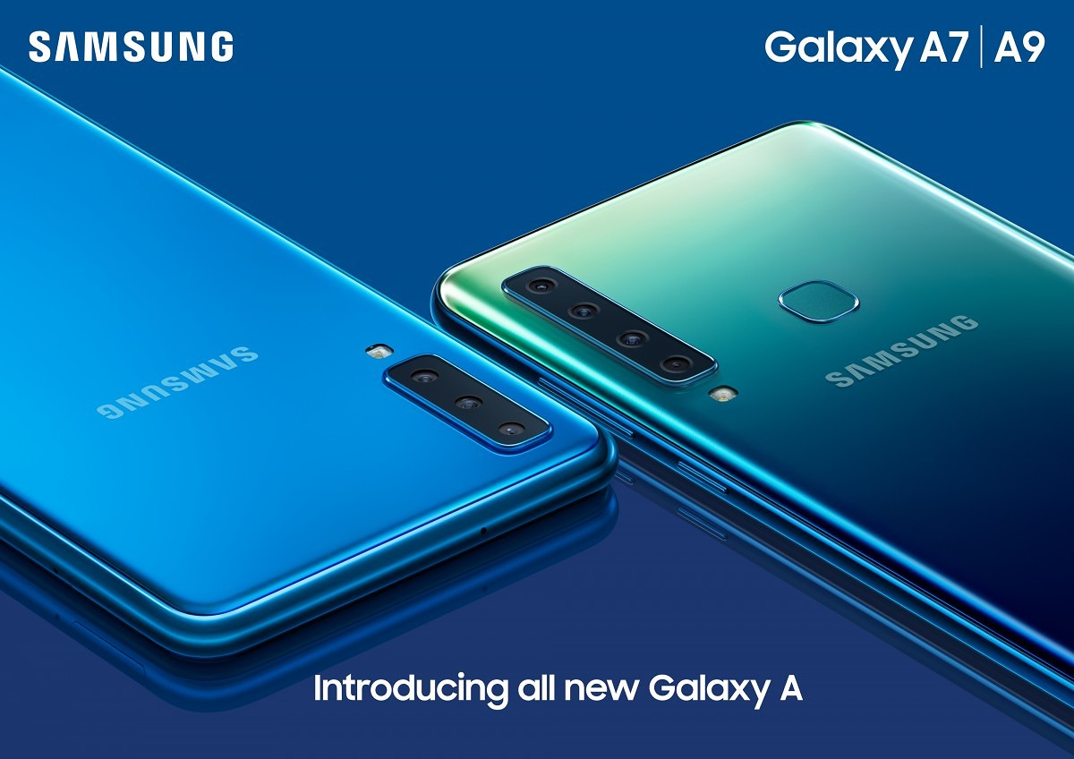 Samsung Galaxy A9 (2018) announced with Quad Rear Cameras