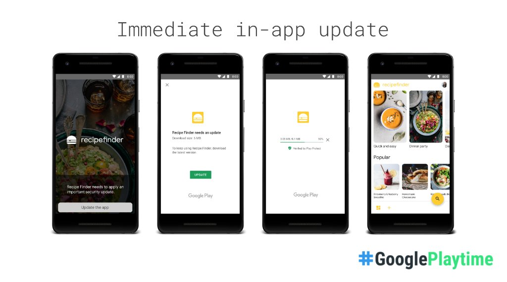 google play service for instant apps update