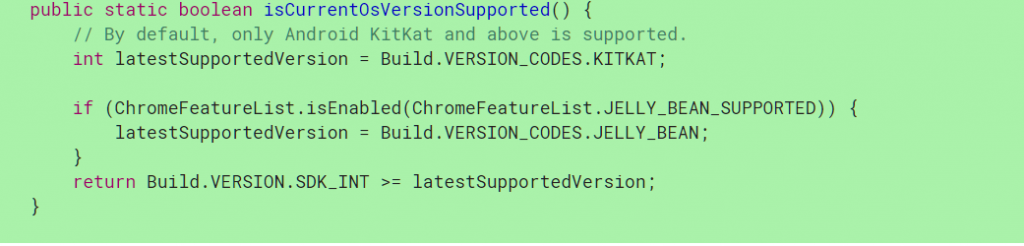 Android stopping support for Jelly Bean