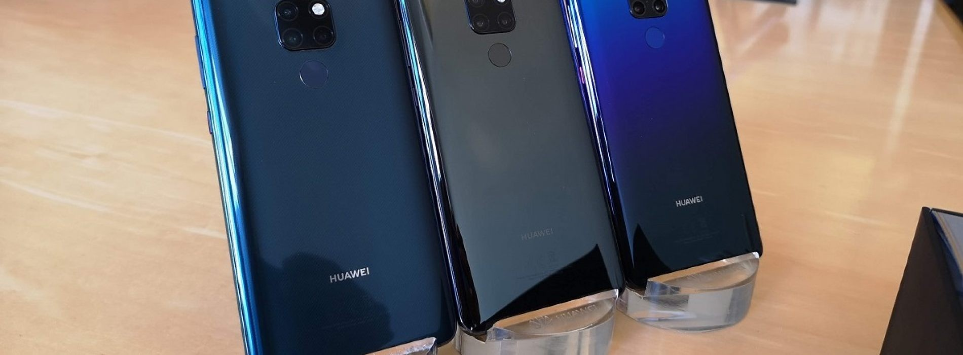 Huawei Mate 20 & Huawei Mate 20 Pro Specs, Pricing, and Availability