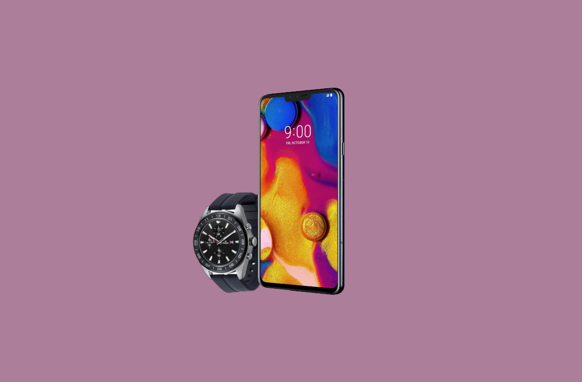 LG V40 ThinQ and LG Watch W7 officially announced