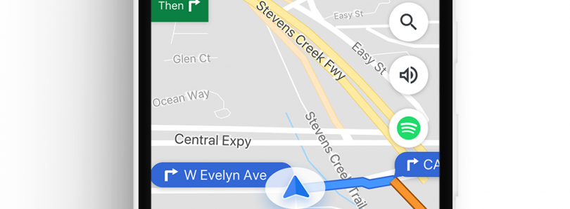 [Update: Rolling Out] Google Maps adds commute features and integrates Spotify, Play Music, & Apple Music