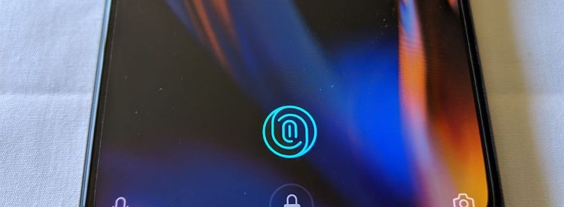 Substratum theme changes the color of the OnePlus 6T's fingerprint animation