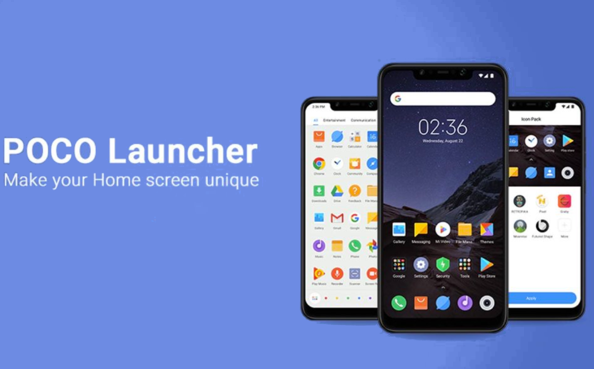 POCO Launcher available in Google Play for Xiaomi and other devices