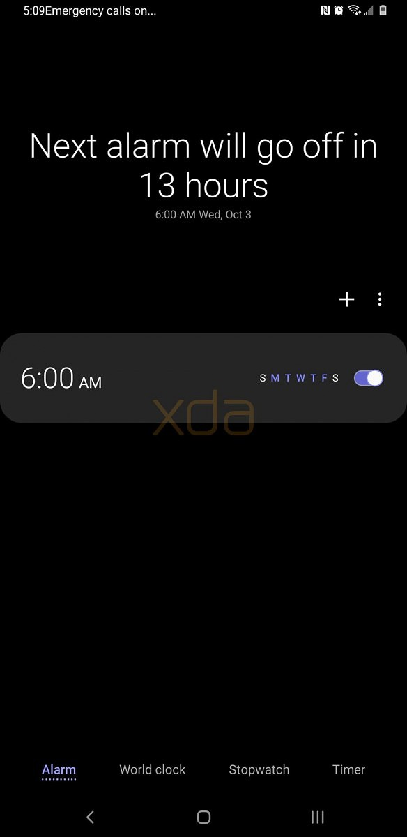 check out the night theme in samsung experience 10 for the galaxy s9