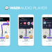 [Update: YouTube Music] Waze adds 7 new streaming services to in-app player