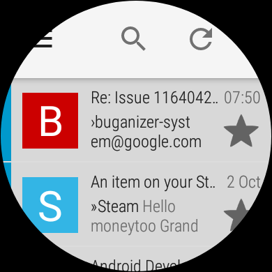 Standalone K-9 Mail client built for Wear OS smartwatches