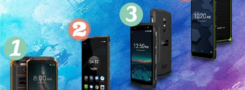 Rugged Poptel P8 Phone gets 50% Discount