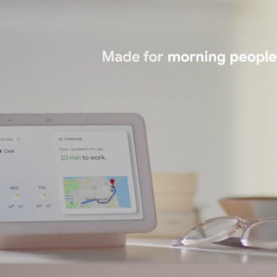 The Nest Hub Max may be a Google-made 10″ smart display with a camera