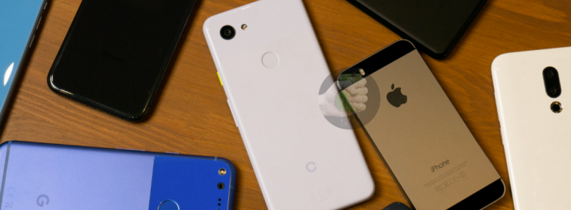 Alleged Google Pixel 3 Lite shown off next to the iPhone XR/XS