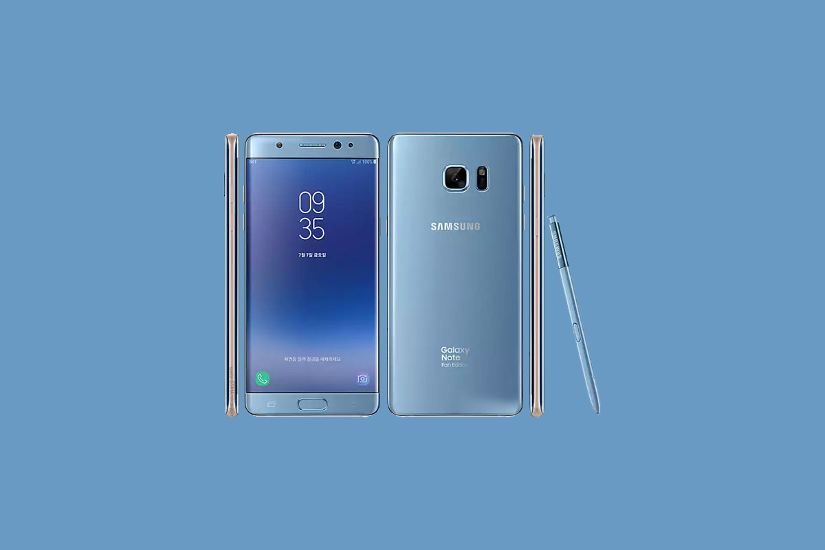 Samsung Galaxy Note FE (Galaxy Note 7) gets certified with Android Pie