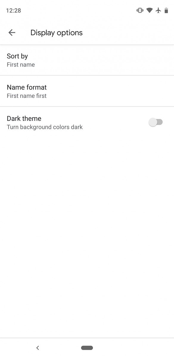 Google Phone v26 rolling out with dark theme support