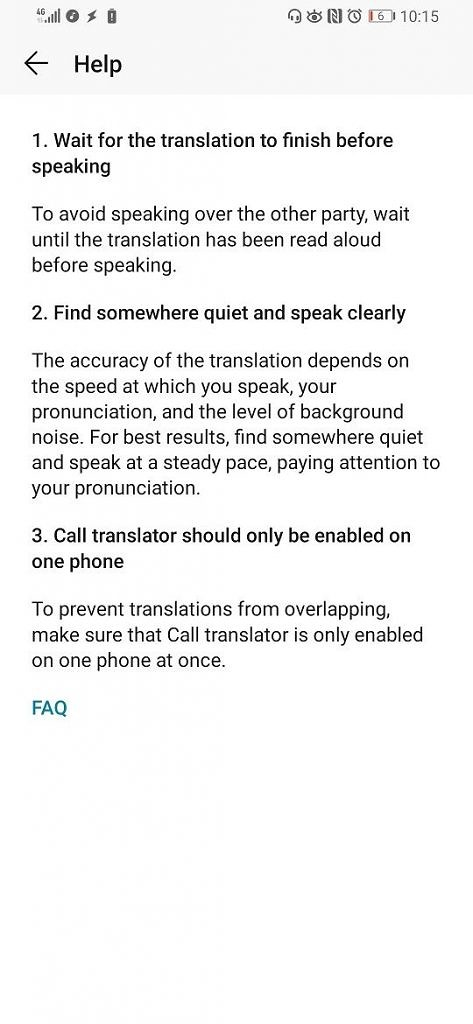 Honor Magic 2 real-time in-call translation feature