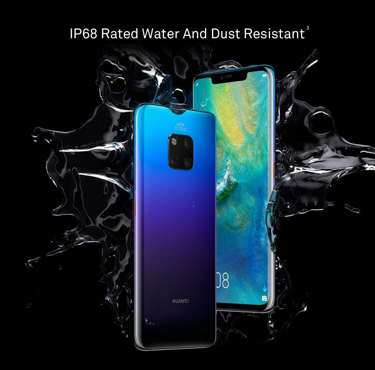Huawei Mate 20 Pro launched in India with Kirin 980 for