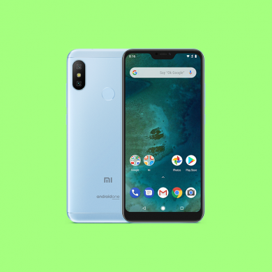 Kernel sources for the Xiaomi Mi A2 Lite's Android Pie update are now up