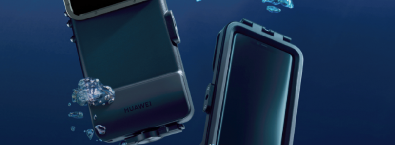 "Huawei releases a ""waterproof"" case for the Mate 20 Pro's Underwater Mode"