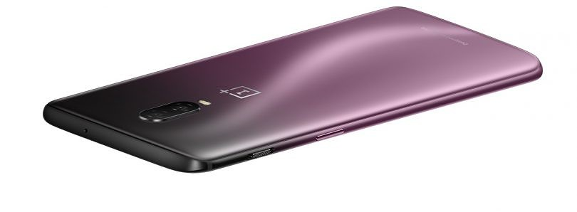 OnePlus 6T comes in a new Thunder Purple color for Europe and America