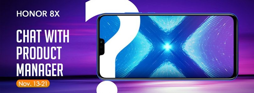 Ask the Honor 8X Product Manager a Question and Win an Honor 10