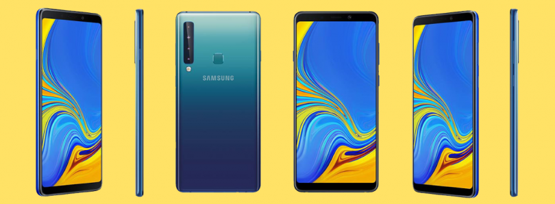 Samsung Galaxy A9 with Quad Rear Cameras launched in India for ₹36,990