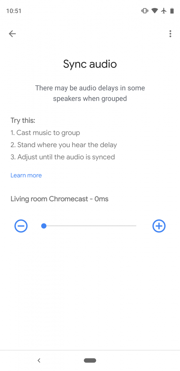 Chromecasts can now be added to speaker groups in the Google