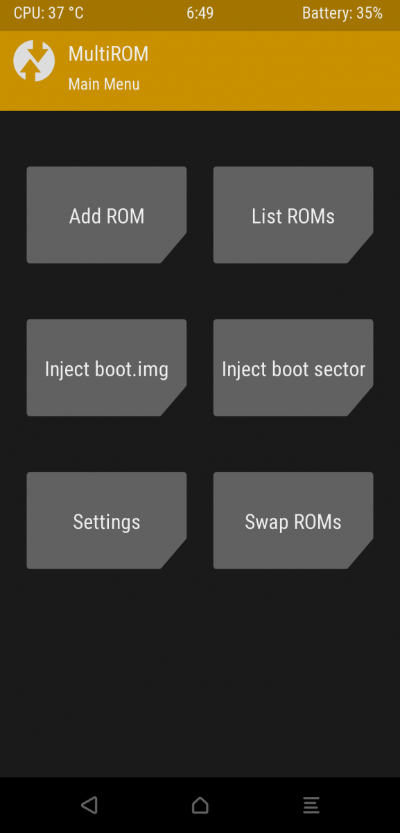 MultiROM now available on Xiaomi POCO F1 for dual booting