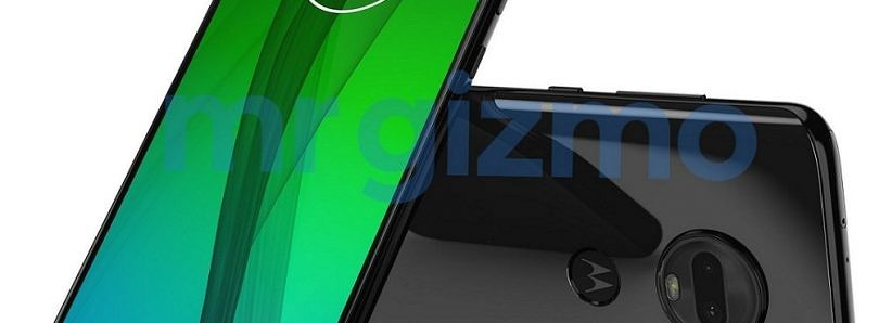 Moto G7 and Moto G7 Plus press renders show waterdrop notch design again