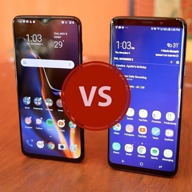 [Video] OnePlus 6T vs. Samsung Galaxy S9+ – It's a close call!
