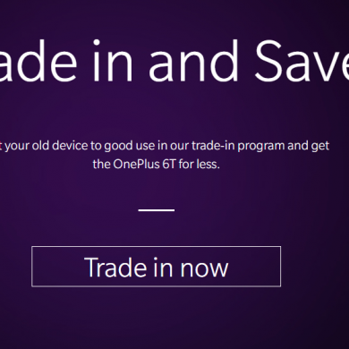 OnePlus and Amazon India are reportedly working on a trade-in program