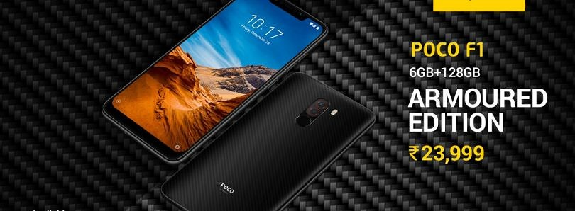 Xiaomi's POCO F1 Armoured Edition is now available in a new RAM and Storage variant