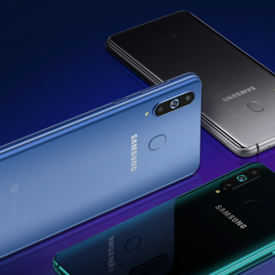 [Update: For sale] Samsung Galaxy A8s is official with LCD display hole and no headphone jack