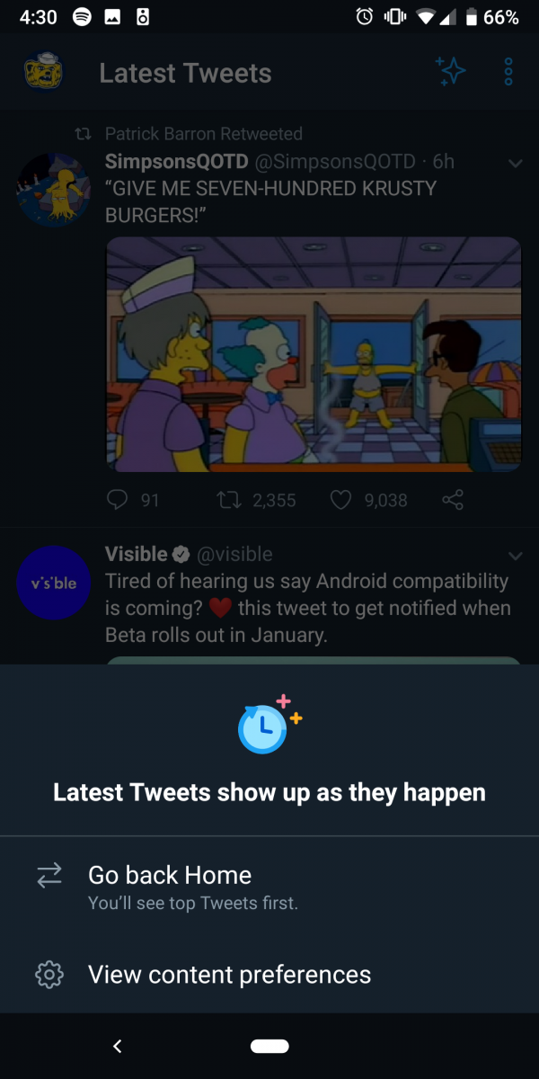 Update: Rolling out now] Twitter will finally let you switch