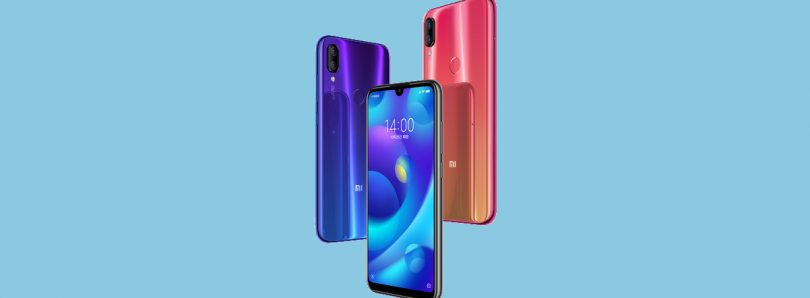 Xiaomi Mi Play launches in China with a waterdrop notch and MediaTek processor