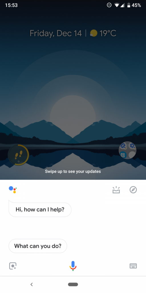 google assistant before